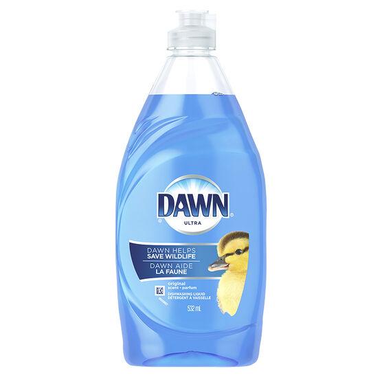 Dawn Ultra Dishwashing Liquid - Original - 532ml