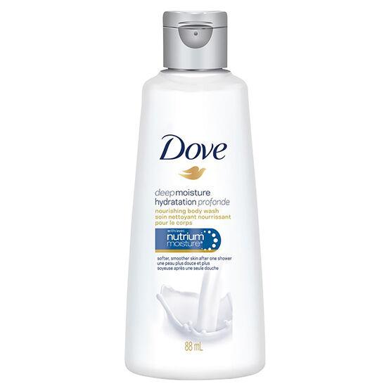 Dove Deep Moisture Nourishing Body Wash - 88ml