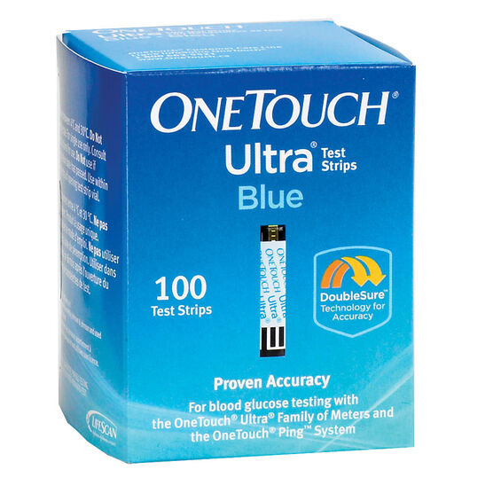 LifeScan One Touch Ultra Test Strips - 100's