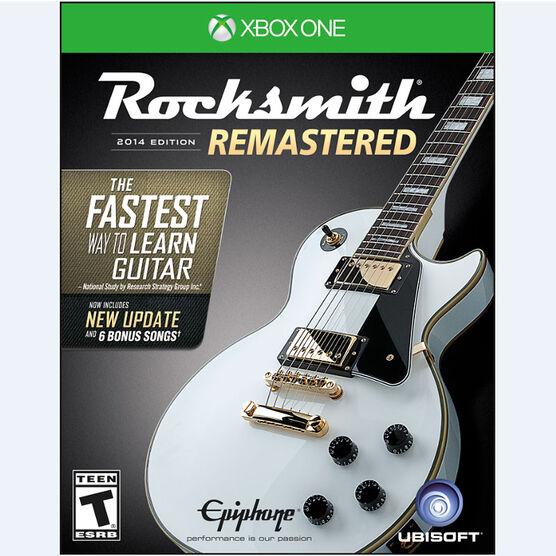 Xbox One Rocksmith 2014 Edition Remastered