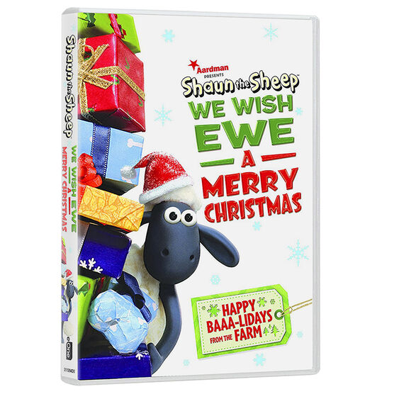 Shaun the Sheep: We Wish Ewe a Merry Christmas - DVD