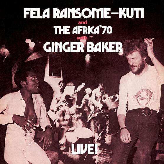 Kuti, Fela - Live with Ginger Baker - Digital Copy + Vinyl