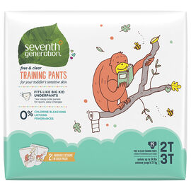 7th Generation Training Pants - 2T/3T - 25's