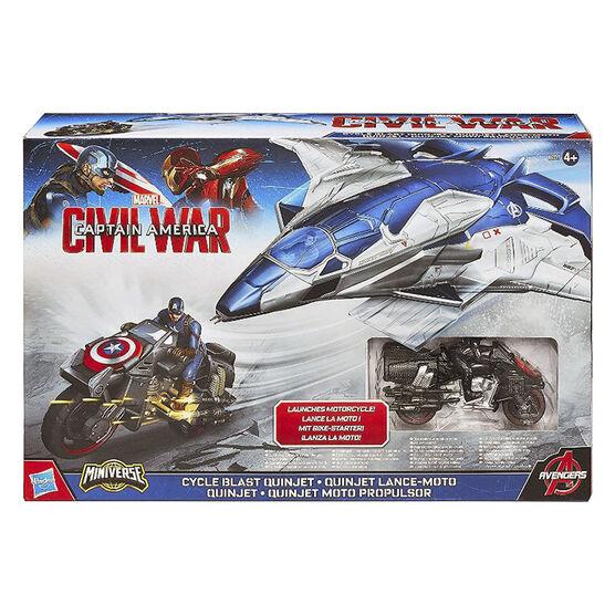 Captain America Civil War Cycle Blast Quinjet