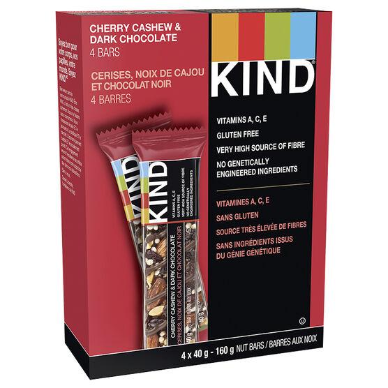 Kind Bars - Dark Chocolate Cherry Cashew Plus Antioxidants - 4 pack