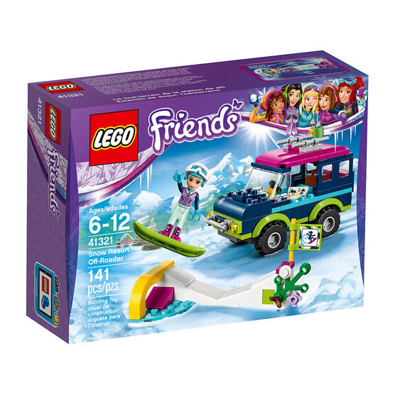Lego Friends Snow Resort Off Roader