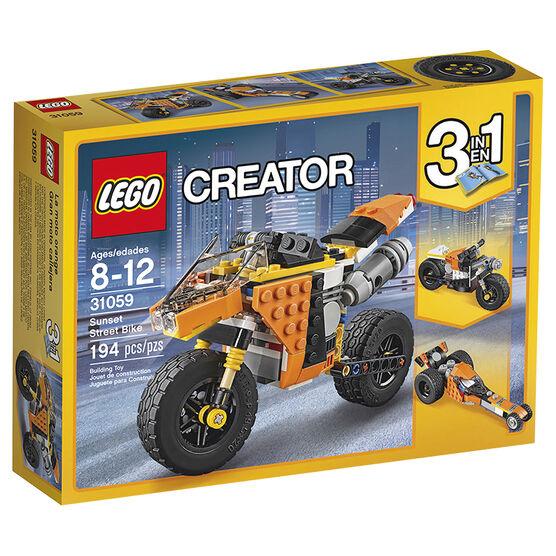 Lego Creator Sunset Street Bike - 31059
