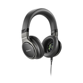 Panasonic Hi-Res Headphones - Black - RPHD10K