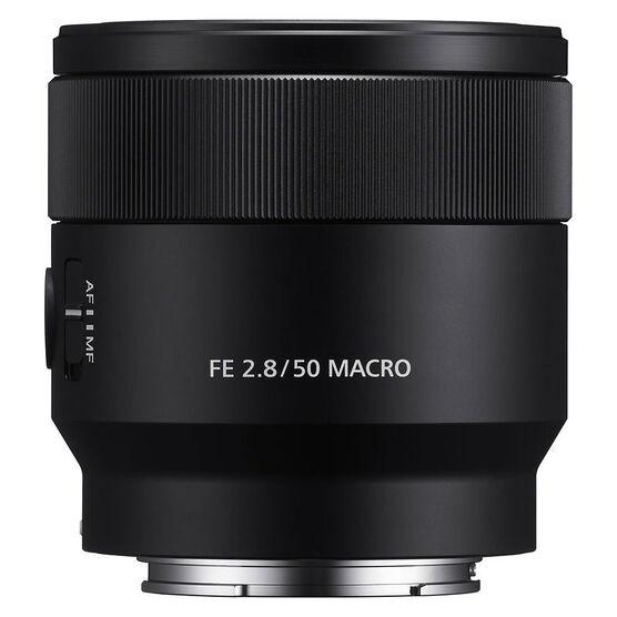 Sony FE 50mm F2.8 Macro Lens - Black - SEL50M28