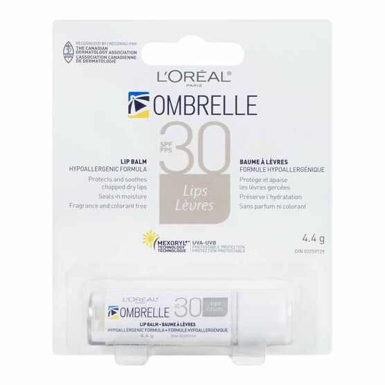 Ombrelle Transparent Lip Balm - SPF 30 - 4.4g