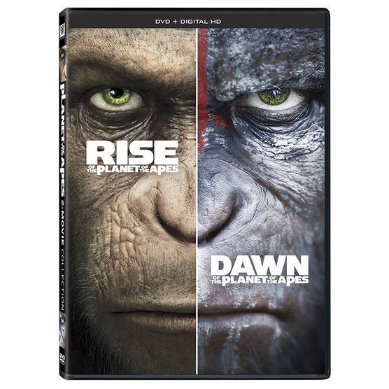 Rise Of The Planet Of The Apes + Dawn Of The Planet Of The Apes - DVD