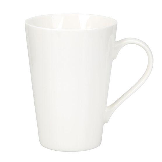 London Drugs Tall Porcelain Mug - White - 16oz