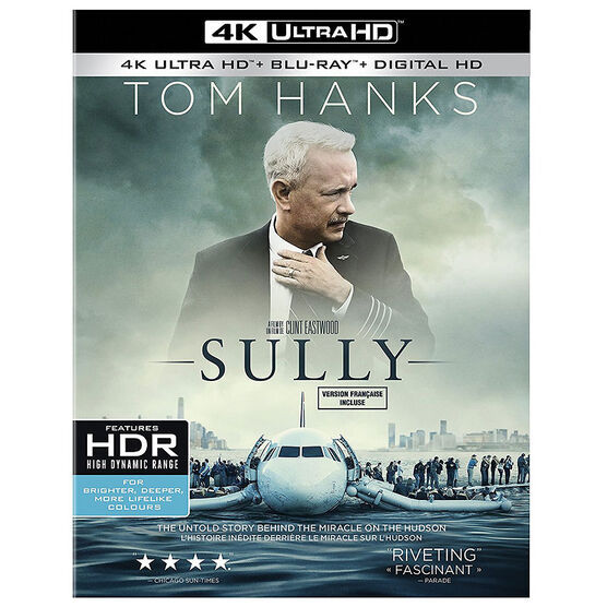 Sully - 4K UHD Blu-ray