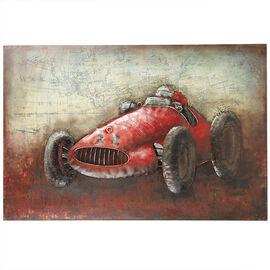 London Drugs Metal Print Antique Race car