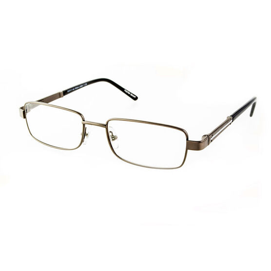 Foster Grant Jagger Reading Glasses - Gunmetal - 2.00