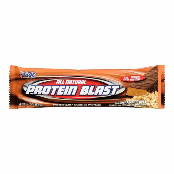 Protein Blast Bar - Creamy Peanut Fudge - 72g