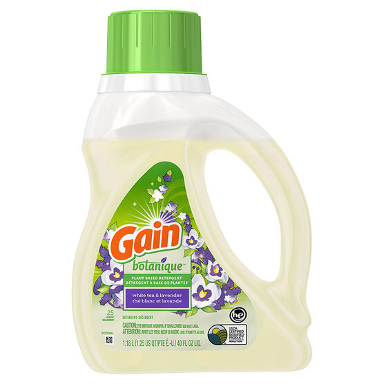 Gain Botanique Laundry Detergent - White Tea & Lavender - 1.18L