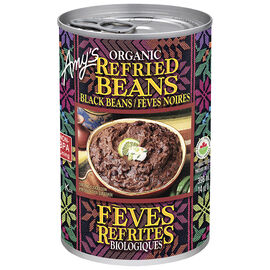 Amy's Organic Refried Black Beans - 398ml