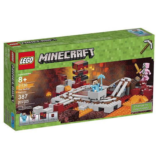 Lego Minecraft The Nether Railway - 21130