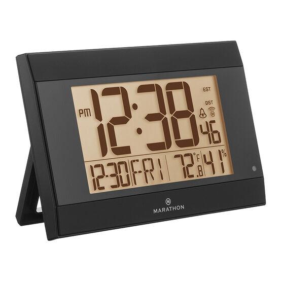 Marathon Atomic Digital Clock - CL030052BK