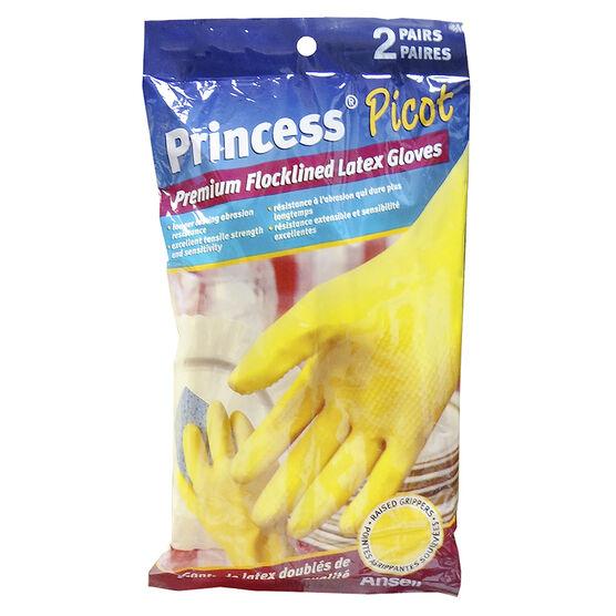 Ansell Princess Picot Gloves - 2 pair