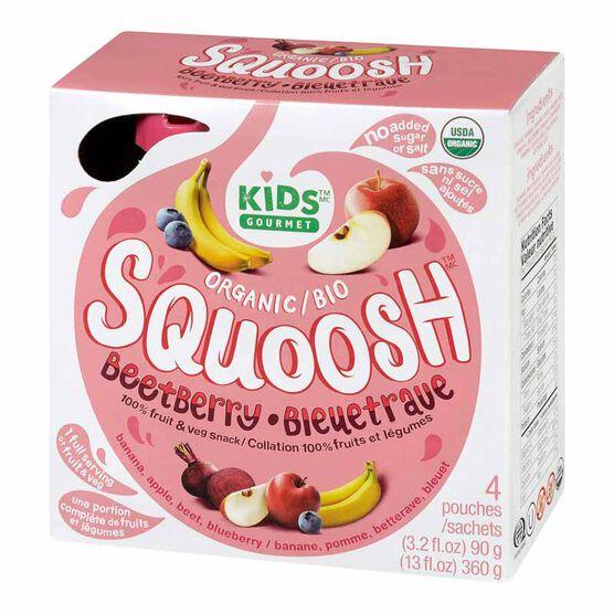 Kids Gourmet Squoosh - Beet Berry - 4 x 90g