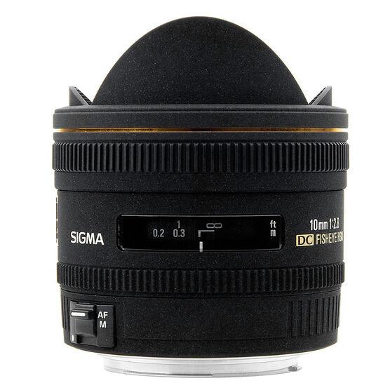 Sigma EX DC 10mm f2.8 Fisheye Lens for Canon - EXDC10HC