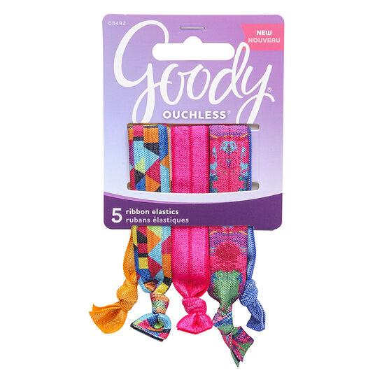 Goody Ouchless Ribbon Elastics - 8492 - 5's