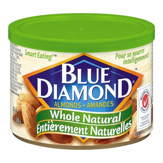 Blue Diamond Almonds - Whole Natural  - 170g