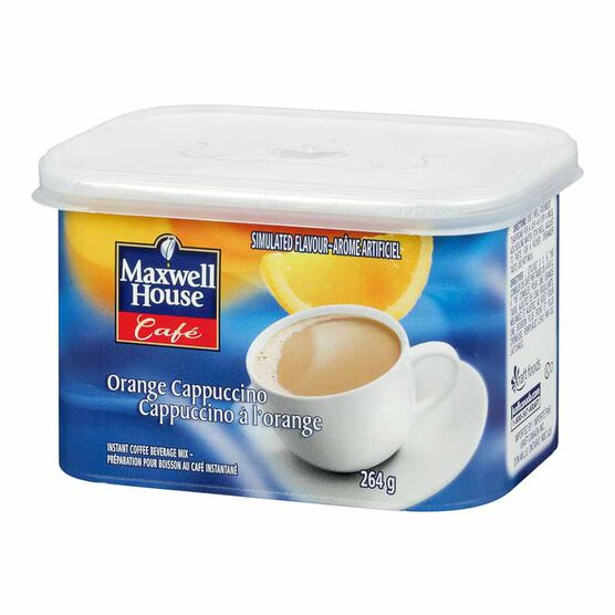 Maxwell House Cafe - Orange Cappuccino - 264g