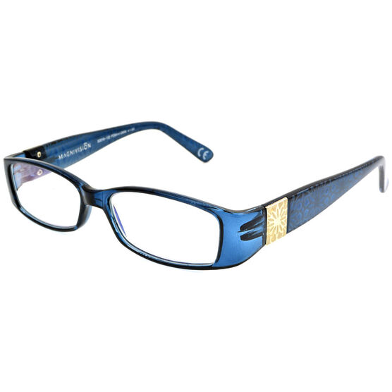 Foster Grant Posh Blue Women's Reading Glasses - 2.50
