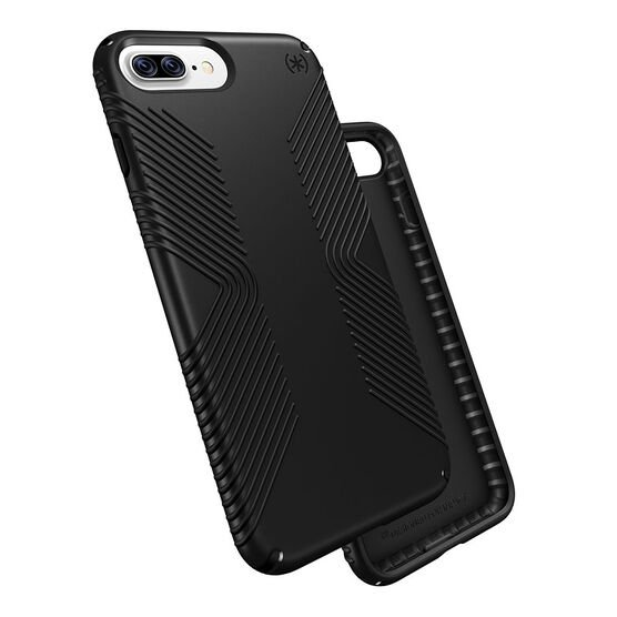 Speck Presidio Grip for iPhone 7 Plus - Graphite Grey - SPK799815731