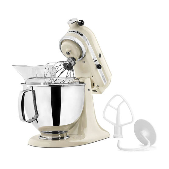 KitchenAid Artisan Series 5 quart Stand Mixer - Almond Cream - KSM150PSAC
