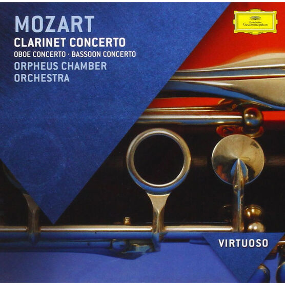 Orpheus Chamber Orchestra - Mozart Clarinet Concerto - CD