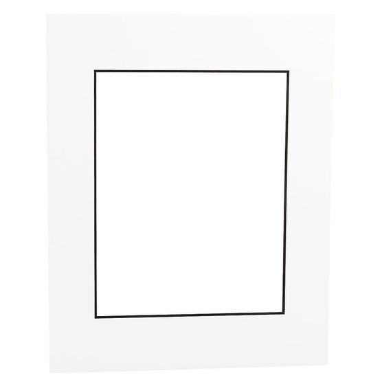 Tempo 16x20 Mat Frame - White/Black
