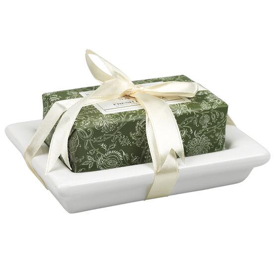The Kitchen Kit Hand Care Set Bar Soap - Fresh Herb Tea - 2 piece