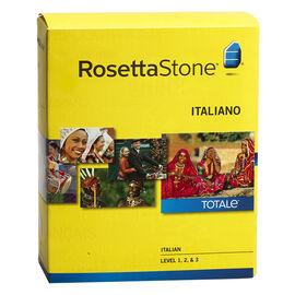 Rosetta Stone V4 Italian Level 1, 2, & 3