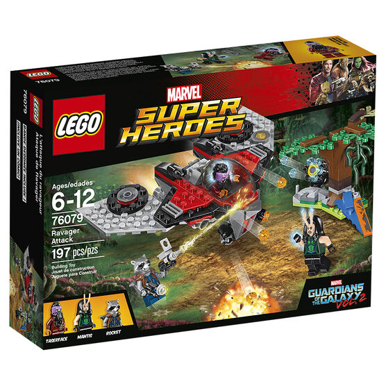 Lego Super Heroes Ravager Attack - 76079