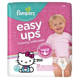 Pampers Easy Ups Training Underwear - 3T/4T - 23ct - Girls