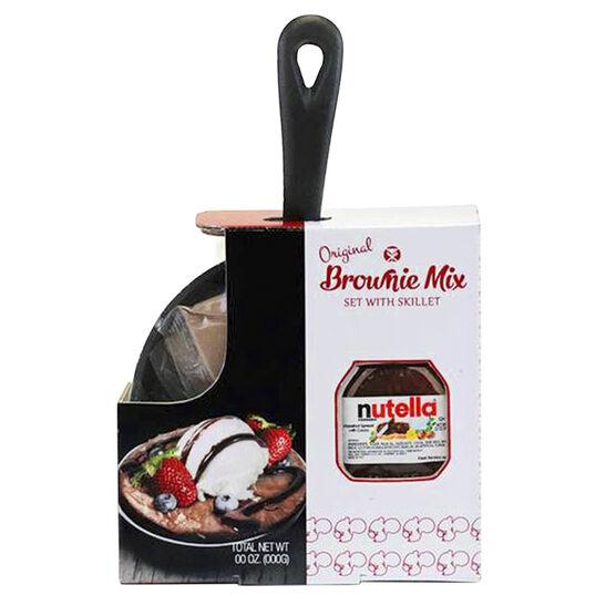 Original Nutella Brownie Mix with Skillet