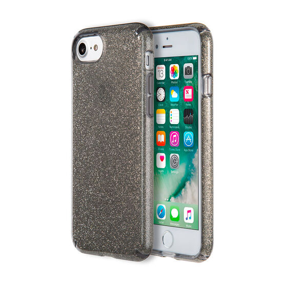 Speck Presidio Clear Glitter for iPhone 7 - Onyx Glitter - SPK799895637