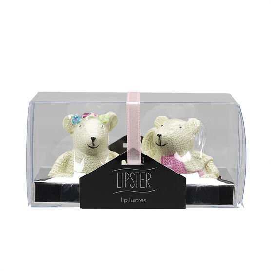 Star&Rose Lipsters Lip Gloss Set - Bears - 2's