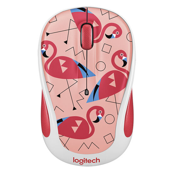Logitech Party Collection M325 Wireless Mouse - Flamingo - 910-004678