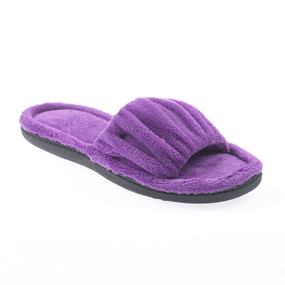 Isotoner Slide-on Ruched Slipper