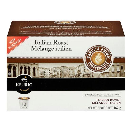 K -Cup Barista Prima Coffee - Italian - 12 Servings