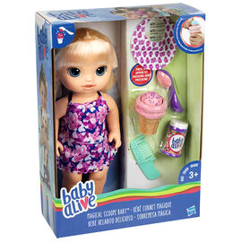 Baby Alive Magical Scoops Baby - Blonde