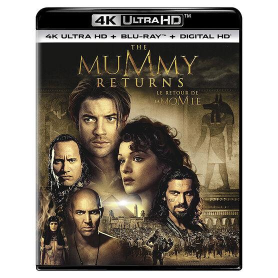 The Mummy Returns - 4K UHD Blu-ray