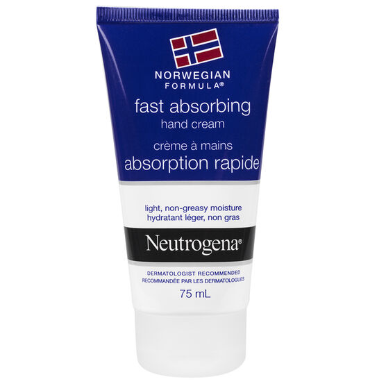 Neutrogena Norwegian Formula Fast Absorbing Hand Cream - 75ml