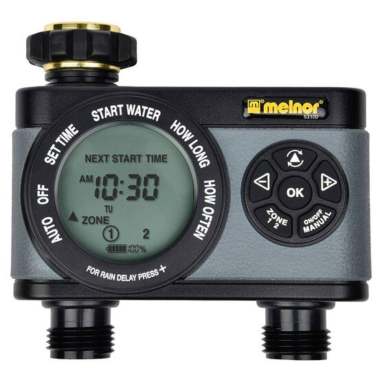 Melnor 2 Zone Digital Timer - 53101