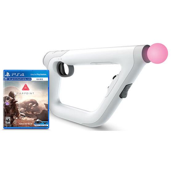 PS VR Aim Controller Farpoint Bundle
